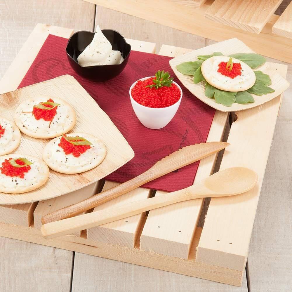 Thìa và muỗng bằng gỗ an toàn cho sức khỏe gia đình
