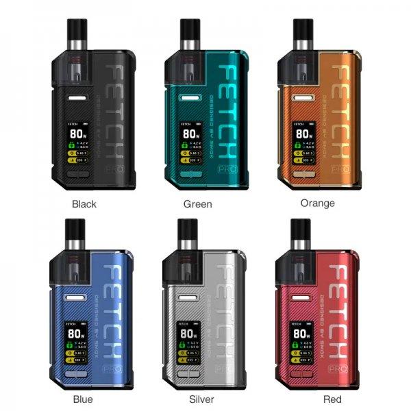 Thiết kế của SMOK Fetch Pro Kit và màu sắc của sản phẩm
