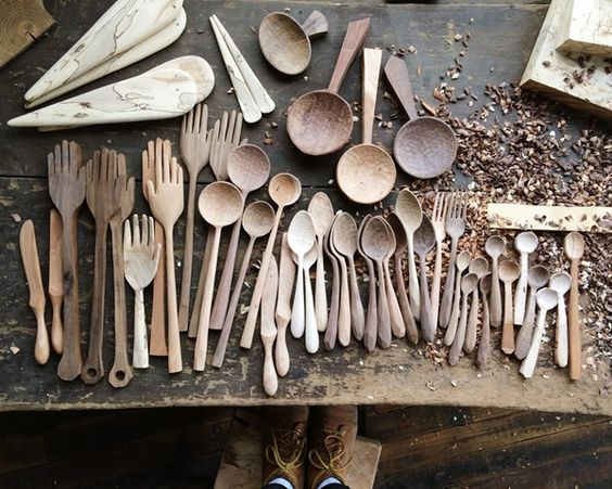 Trang trí món ăn thêm đẹp mắt với các loại đồ dùng trang trí nội thất bằng gỗ