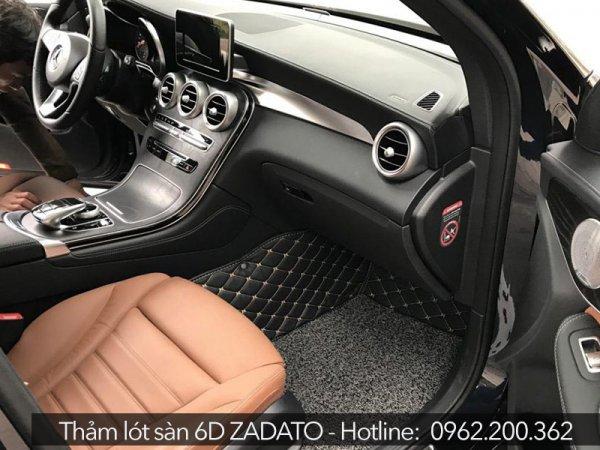 Thảm lót sàn ô tô 5D, 6D sẽ giúp hỗ trợ cách âm ô tô hiệu quả