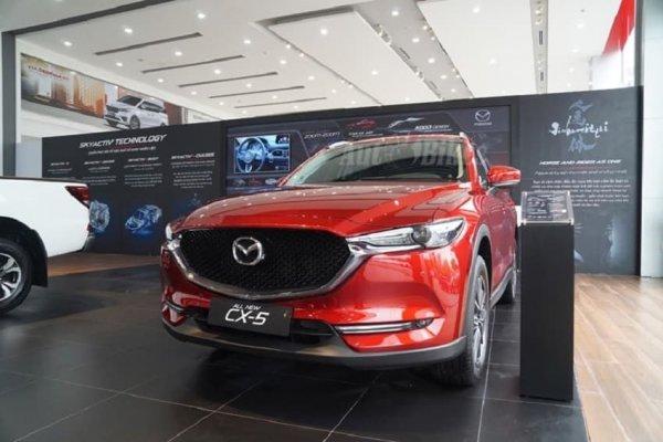 Đầu xe của Mazda CX-5