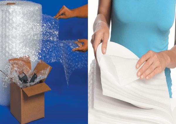 Các nguyên tắc cần biết khi sử dụng xốp bong bóng gói hàng