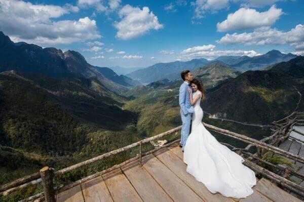 Cầu Mây là một địa điểm chụp hình cưới ngoại cảnh Sapa đẹp