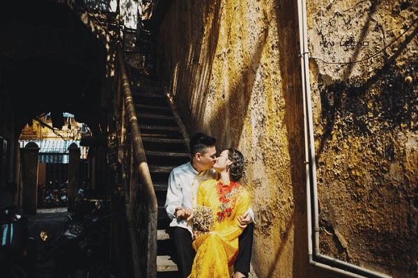 Chụp ảnh cưới ngoại cảnh đẹp tại Hà Nội
