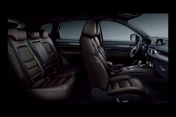 Ghế ngồi của Mazda CX-5 có khả năng gập 40:20:40