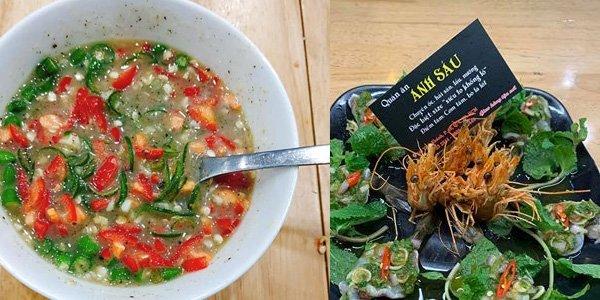 Hình ảnh món ăn tại quán ốc Anh Sáu