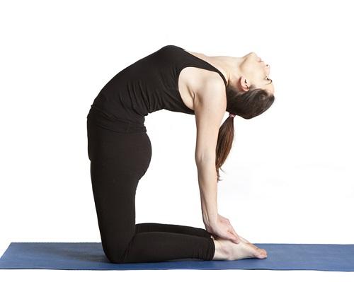 Hướng dẫn bài tập yoga con lạc đà