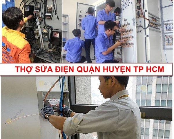 Phạm vị thợ sửa chữa điện nước hoạt động