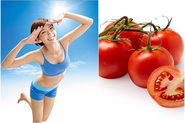 Sử dụng cà chua là cách tẩy lông đơn giản, dễ thực hiện