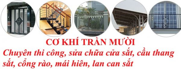Thợ hàn sắt tại nhà của Mr Mười xin được phục vụ quý khách