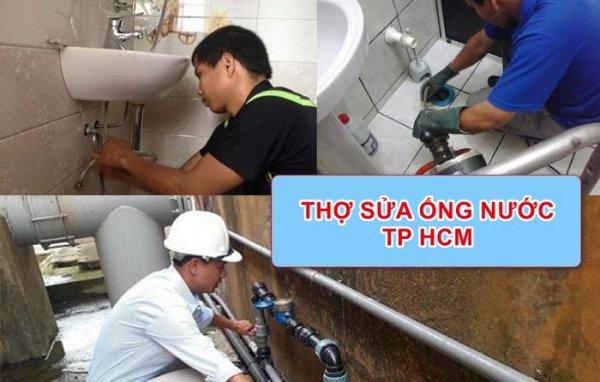 Thợ sửa chữa ống nước tại nhà của điện Nước Trần Quang chuyên nghiệp