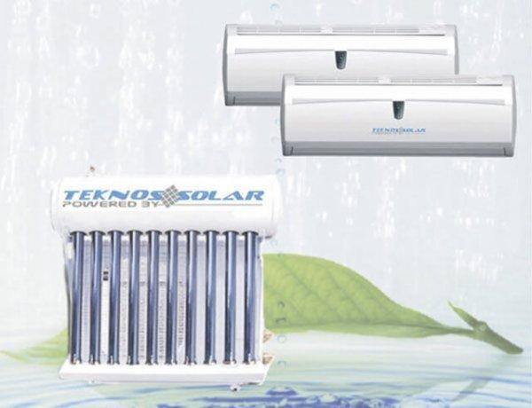 Máy điều hòa năng lượng mặt trời Teknos