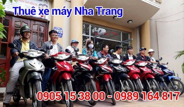 Địa điểm thuê xe máy uy tín ở Nha Trang