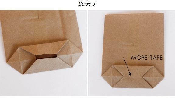 Bước 3 - Túi giấy kraft gói quà