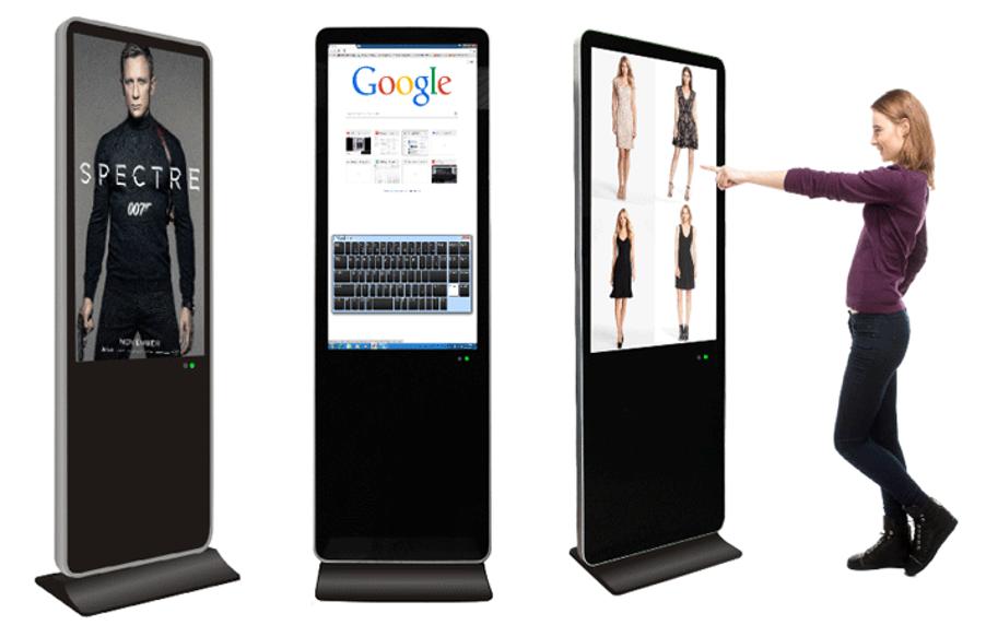 Màn hình quảng cáo chân đứng có thể thu hút marketing hiệu quả