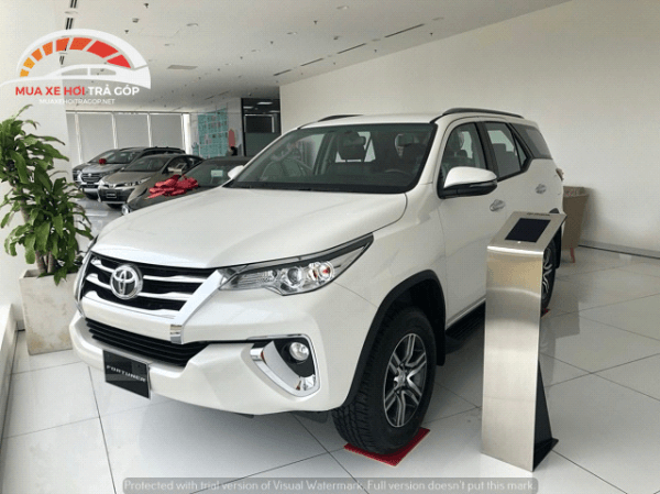 Toyota Fortuner mới nhất 2020
