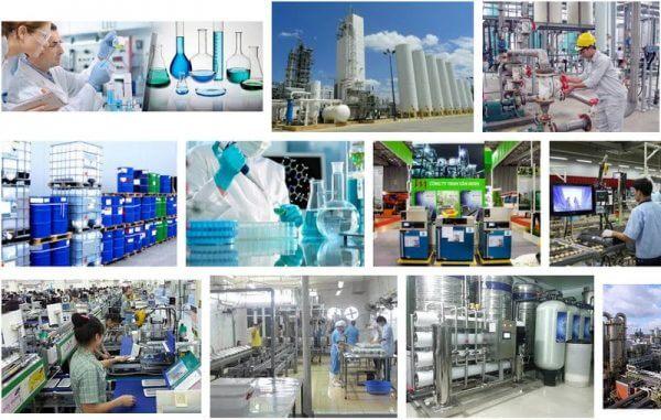 Lịch sử phát triển của ngành công nghiệp hóa chất ở nước ta