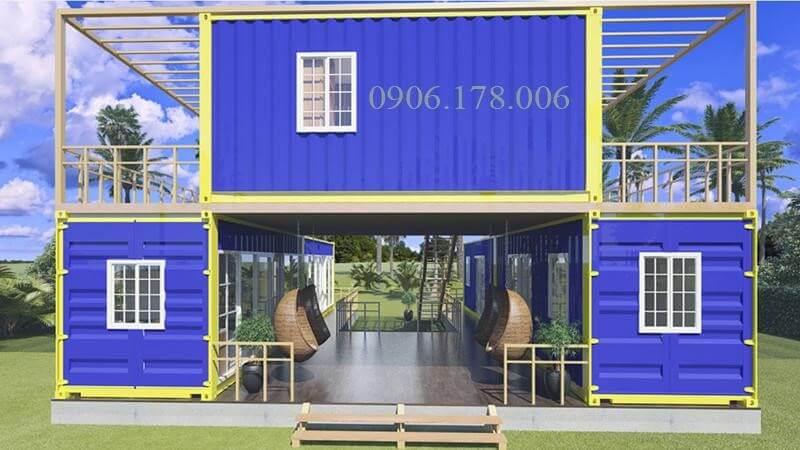 Nhà container giá rẻ tiện nghi giá rẻ giành cho người thu nhập thấp