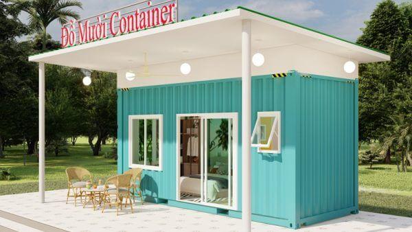 Nhà container thiết kế cho người độc thân