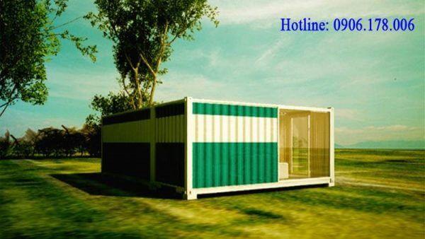 Nhà container với không gian mở 01