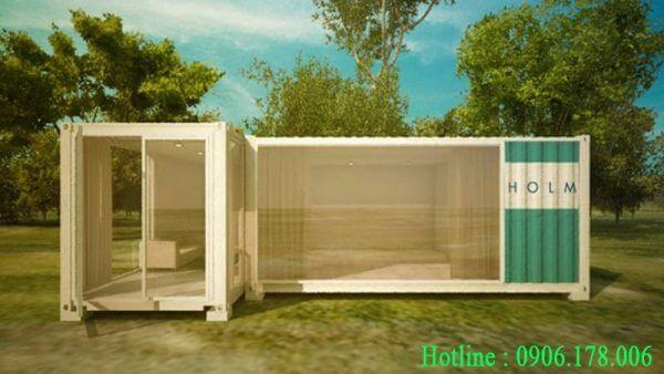 Nhà container với không gian mở 02