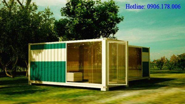 Nhà container với không gian mở 03
