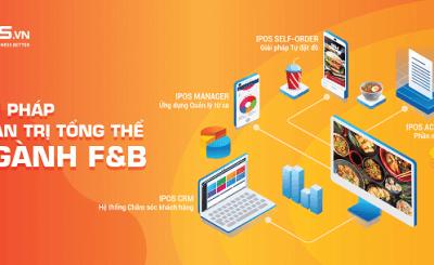 Phần mềm quản lý nhà hàng IPOS hỗ trợ tiết kiệm chi phí và thời gian