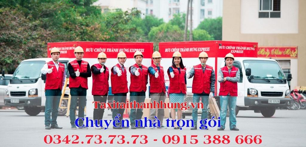 Taxi tải Thành Hưng - Dịch vụ vận chuyển nhà số 1 Hà Nội