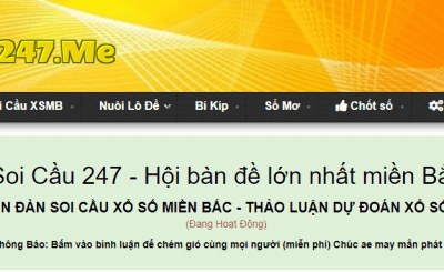 Dư đoán xổ số miền Bắc chính xác nhất tại soicau247