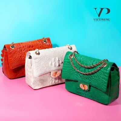 Túi xách da cá sấu Việt Phong – khẳng định đẳng cấp thời trang