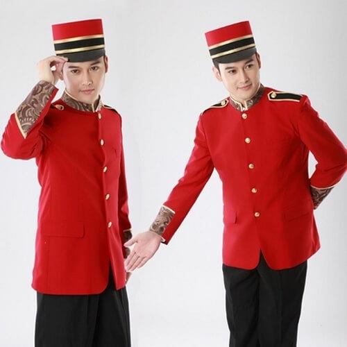 Đồng phục khách sạn Bellman