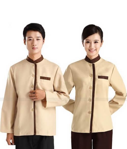 Đồng phục màu nổi cho nhân viên buồng