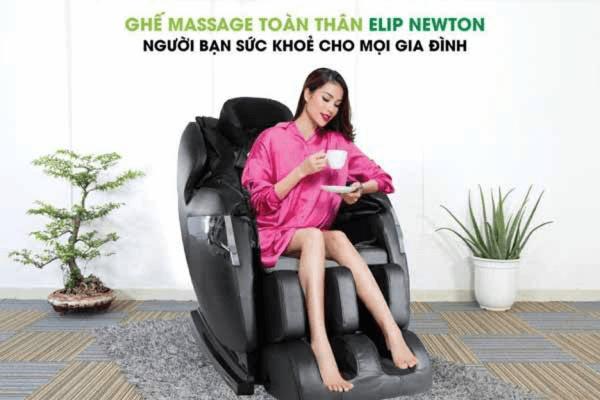 Ghế massage toàn thân giúp xả stress hiệu quả