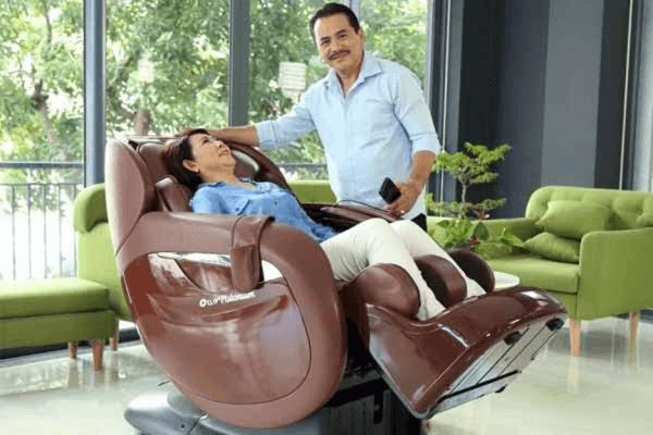 Ghế massage toàn thân là xu hướng lựa chọn cho gia đình