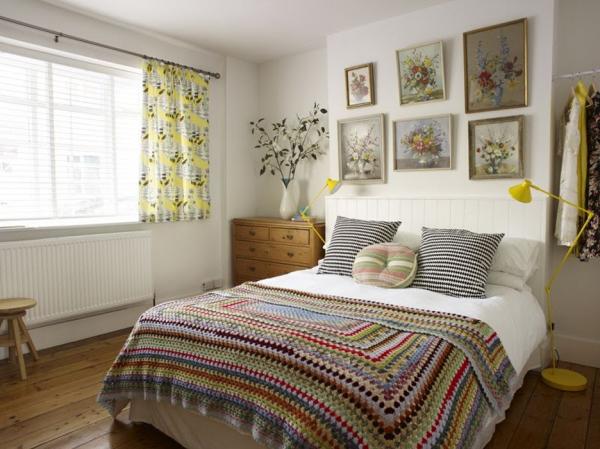 Thiết kế nội thất phòng ngủ vintage