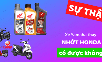 [ĐÁNH GIÁ 2020] Xe Yamaha thay nhớt Honda được không SỰ THẬT đằng sau