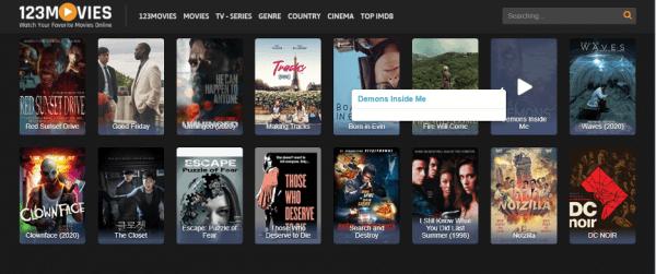 123Movies cũng là kênh website xem phim miễn phí chất lượng