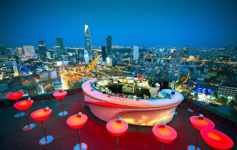 Chill Sky Bar địa điểm vui chơi TPHCM