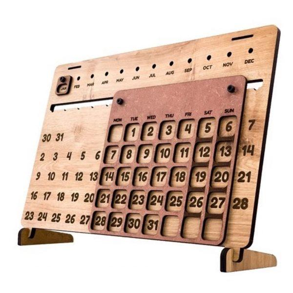 Lịch gỗ thiết kế độc quyền theo thương hiệu của khách hàng