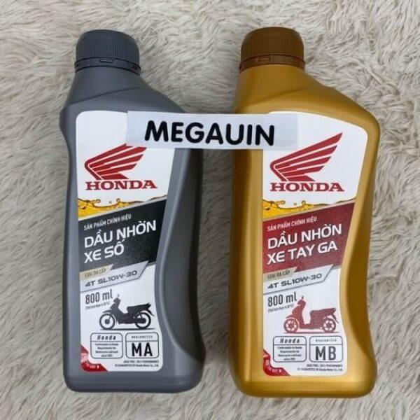 Nhớt Honda có thể phát huy tốt nhất chỉ khi dùng cho xe Honda
