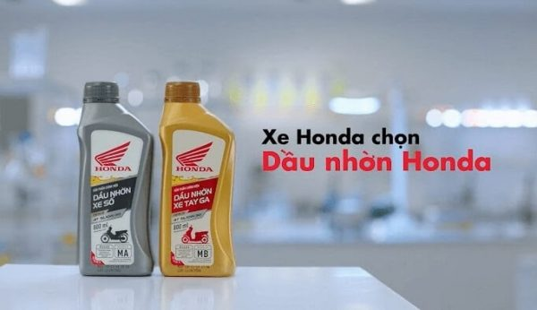 Xe Honda chọn dầu nhờn honda