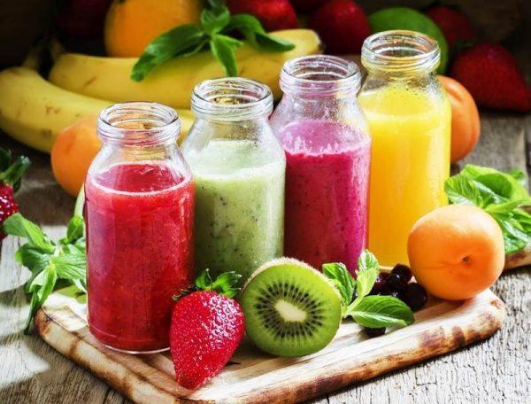 Nước ép trái cây chứa nhiều đường