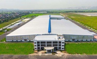 Một công trình nhà xưởng tiền chế được xây dựng bởi Seico Group