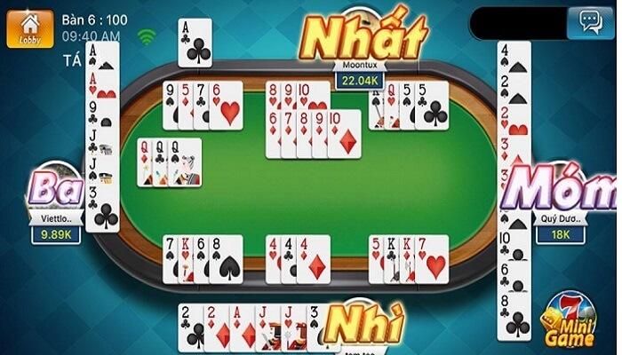 Phỏm - game đánh bài quen thuộc