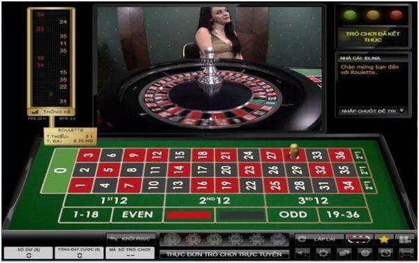 Tham gia đặt cược trò chơi Roulette