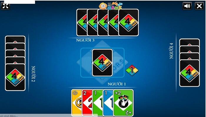 Uno game đánh bài cho điện thoại