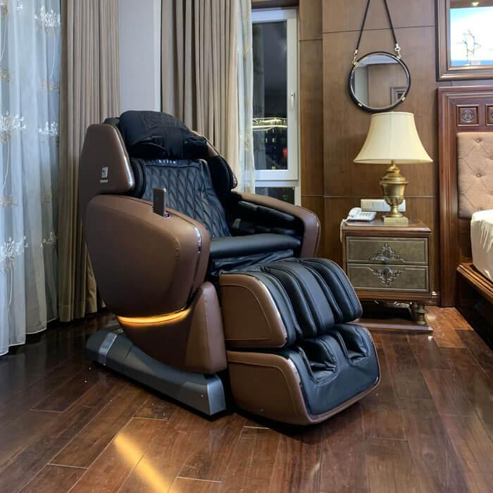 Đặt ghế massage tránh ánh nắng mặt trời chiếu vào