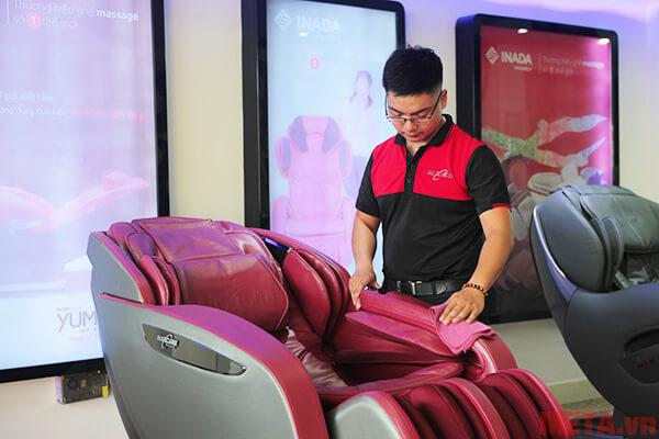 Bảo quản ghế matxa như thế nào?