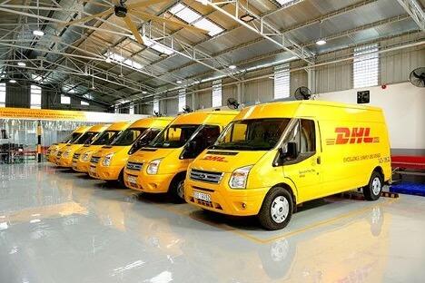 Dịch vụ vận chuyển nhanh tại DHL