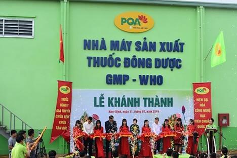 Lễ khánh thành nhà máy sản xuất dược phẩm PQA